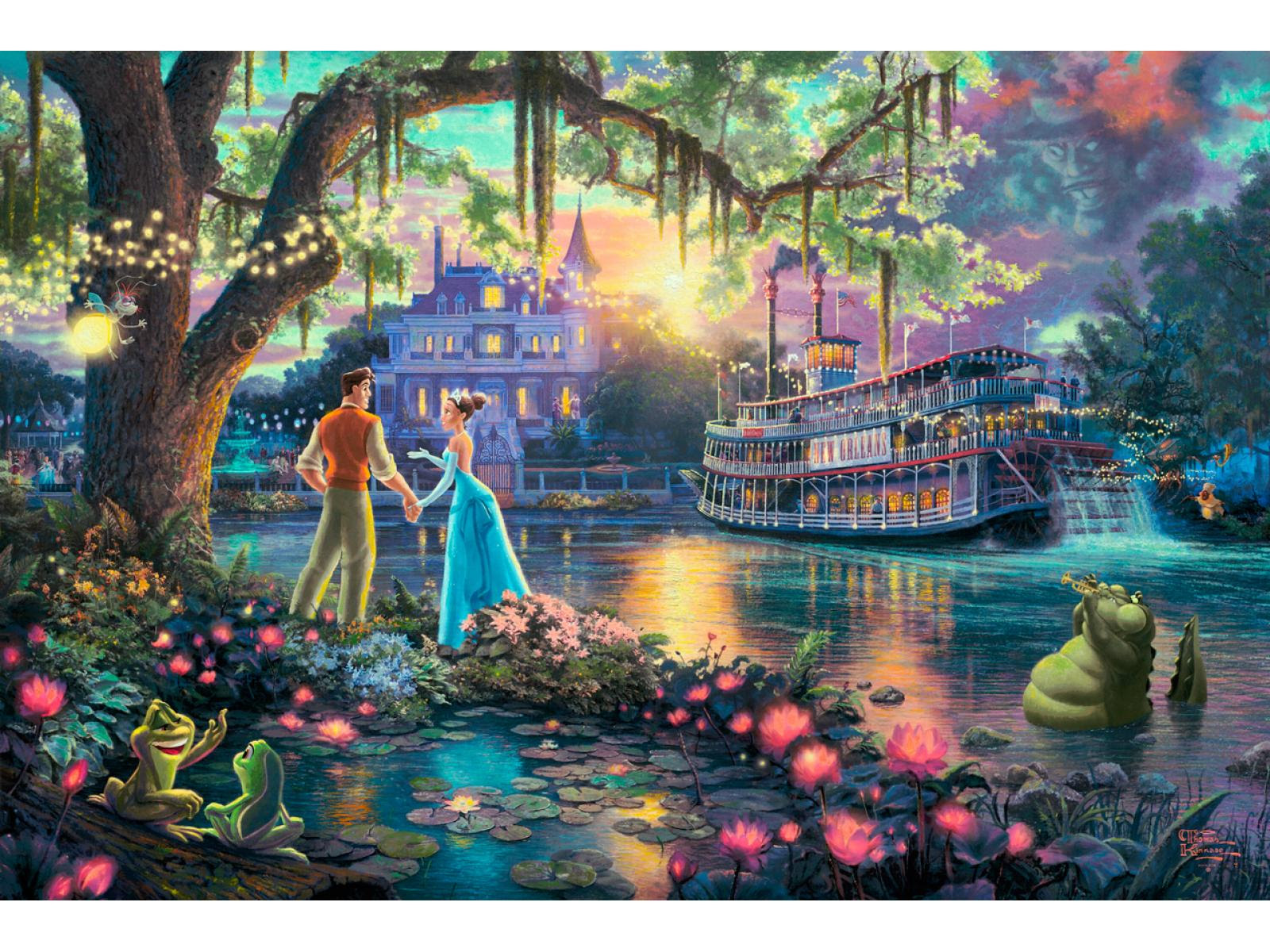 Limited Edition Paper Prints The Princess And The Frog Paper Print