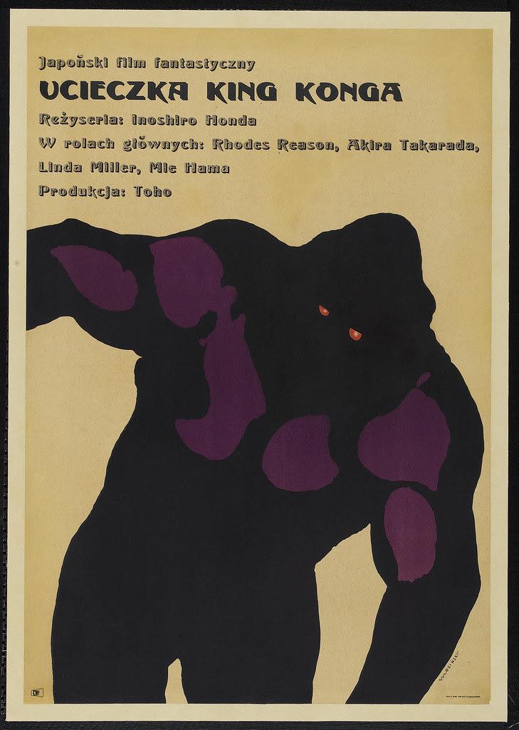 King Kong Escapes (Toho, 1967) Polish