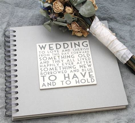 wedding album/ memory book by posh totty designs interiors