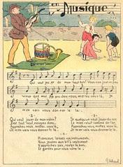 en musique