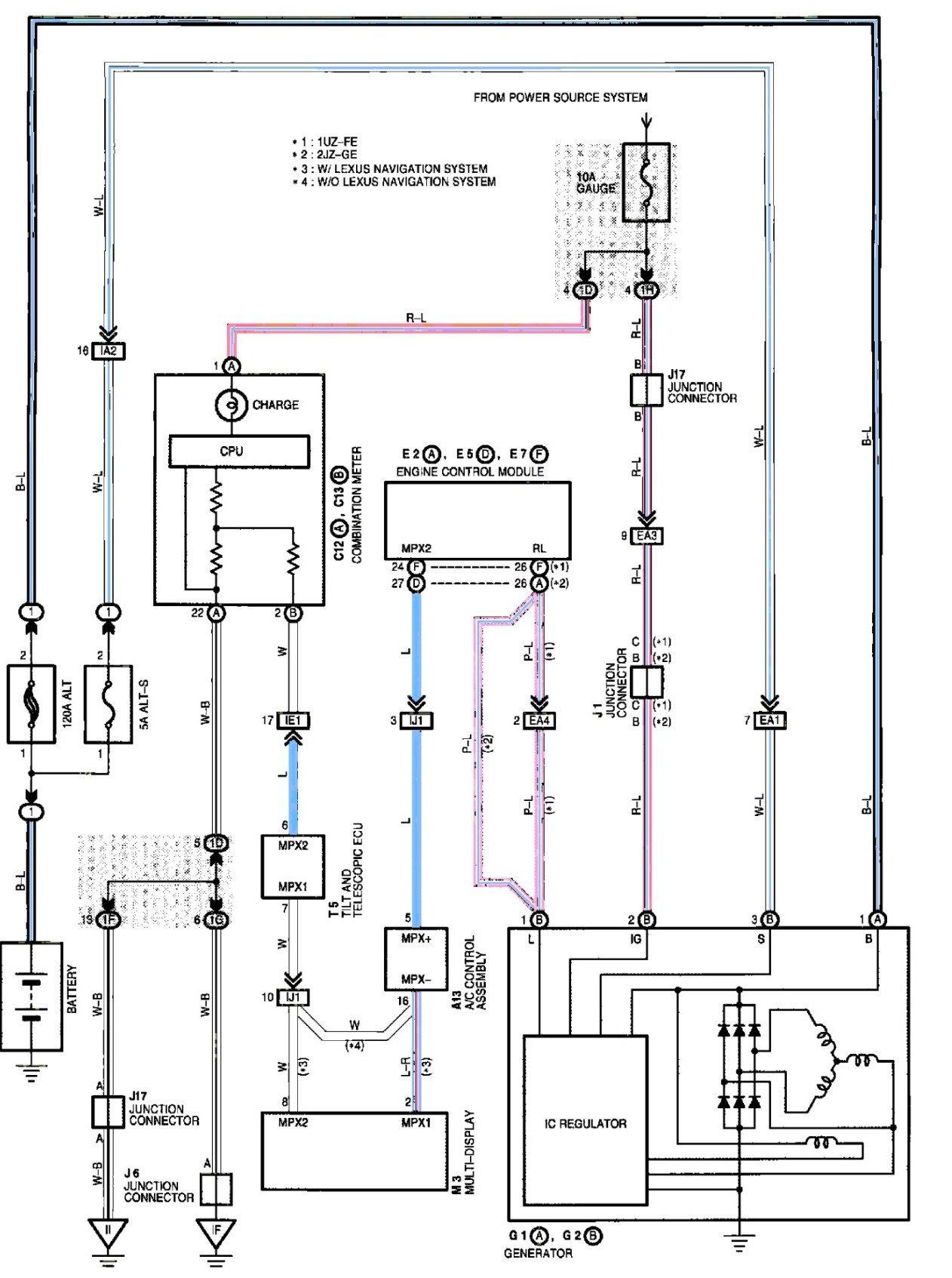 1995 Lexus Ls400 Fuse Box Diagram