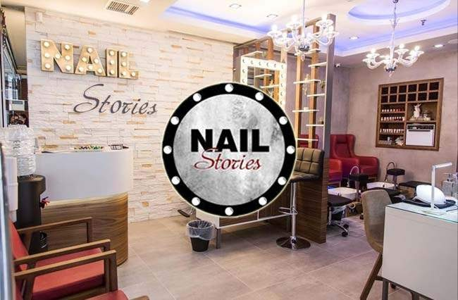 NailStories: Διακόσμηση σε κατάστημα περιποίησης Νυχιών & Φρυδιών