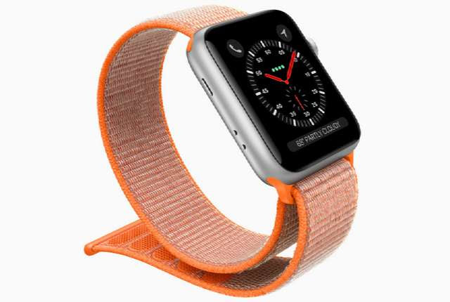 Apple Watch Series 3 with WatchOS 4 and Electronic SIM Becomes Official