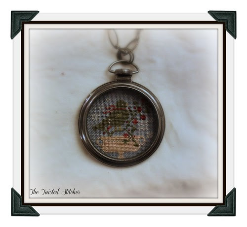 Snow Bird Pocket Watch