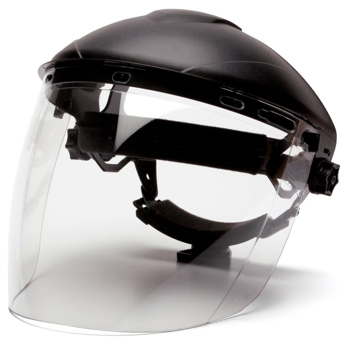 Pyramex S1110 Tapered Polycarbonate Face Shield - Clear ...