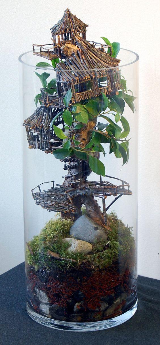 miniature tree houses 7
