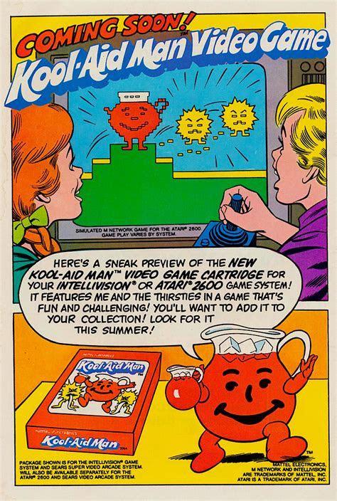 Kool Aid Man Comic Book & Video Game (1983)   Snaxtime