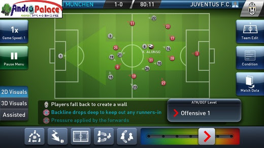 PES Club Manager 2015 APK+DATA