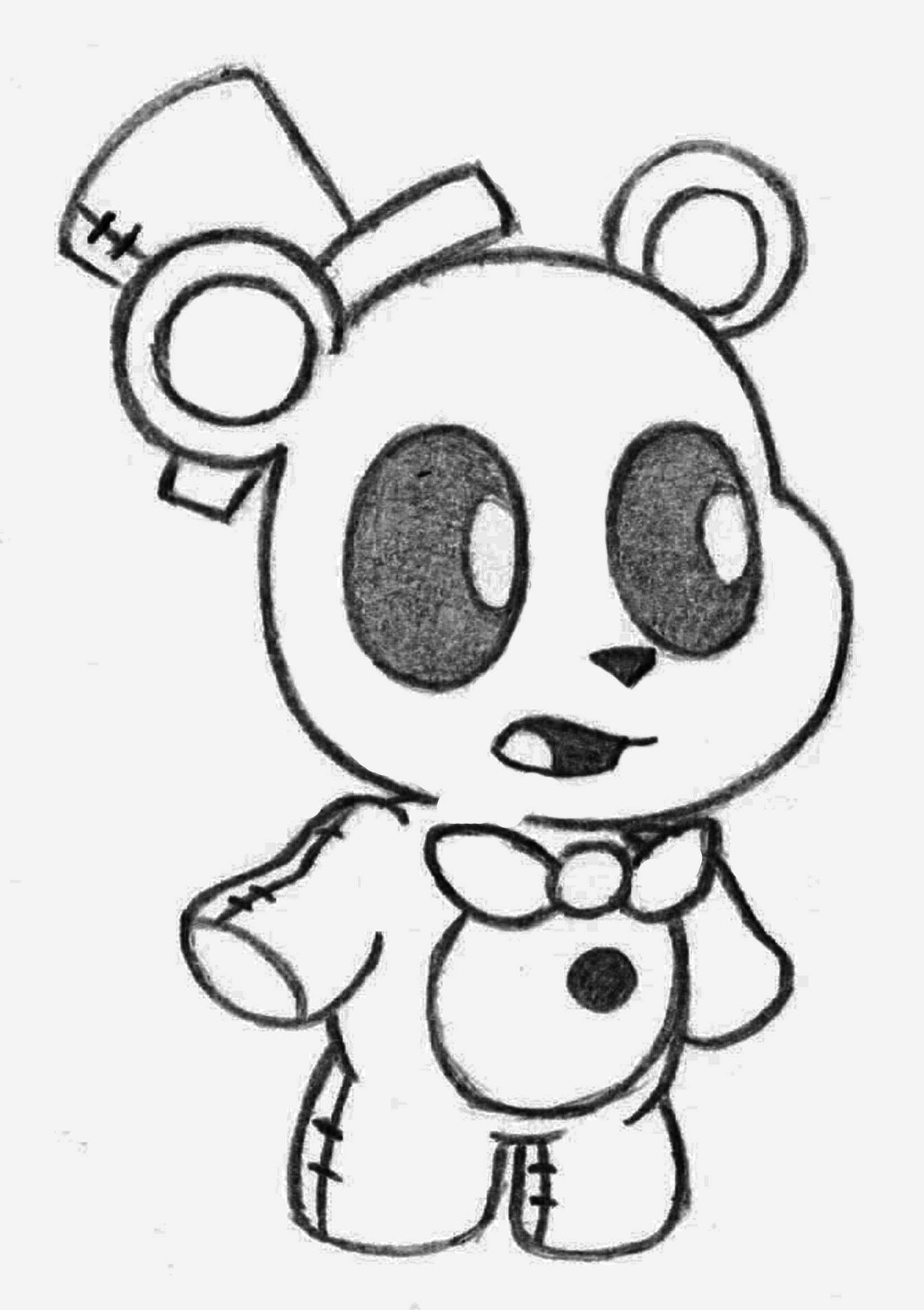 Minecraft Freddy coloring page   Free Printable Coloring Pages   2337x1649