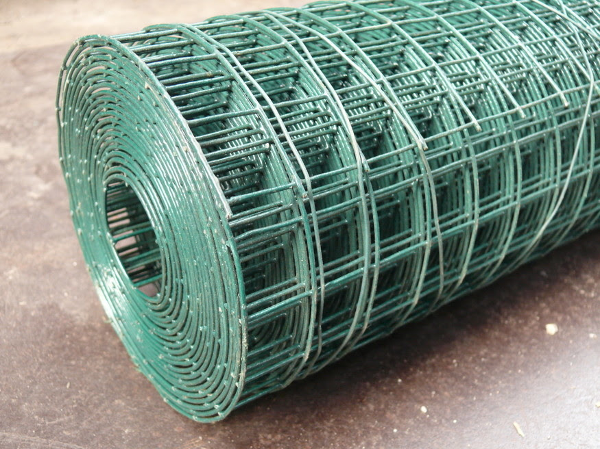 Low Carbon Iron Wire Concrete Reinforcing Mesh Roll 1 2 X 1 2 Pvc Coated