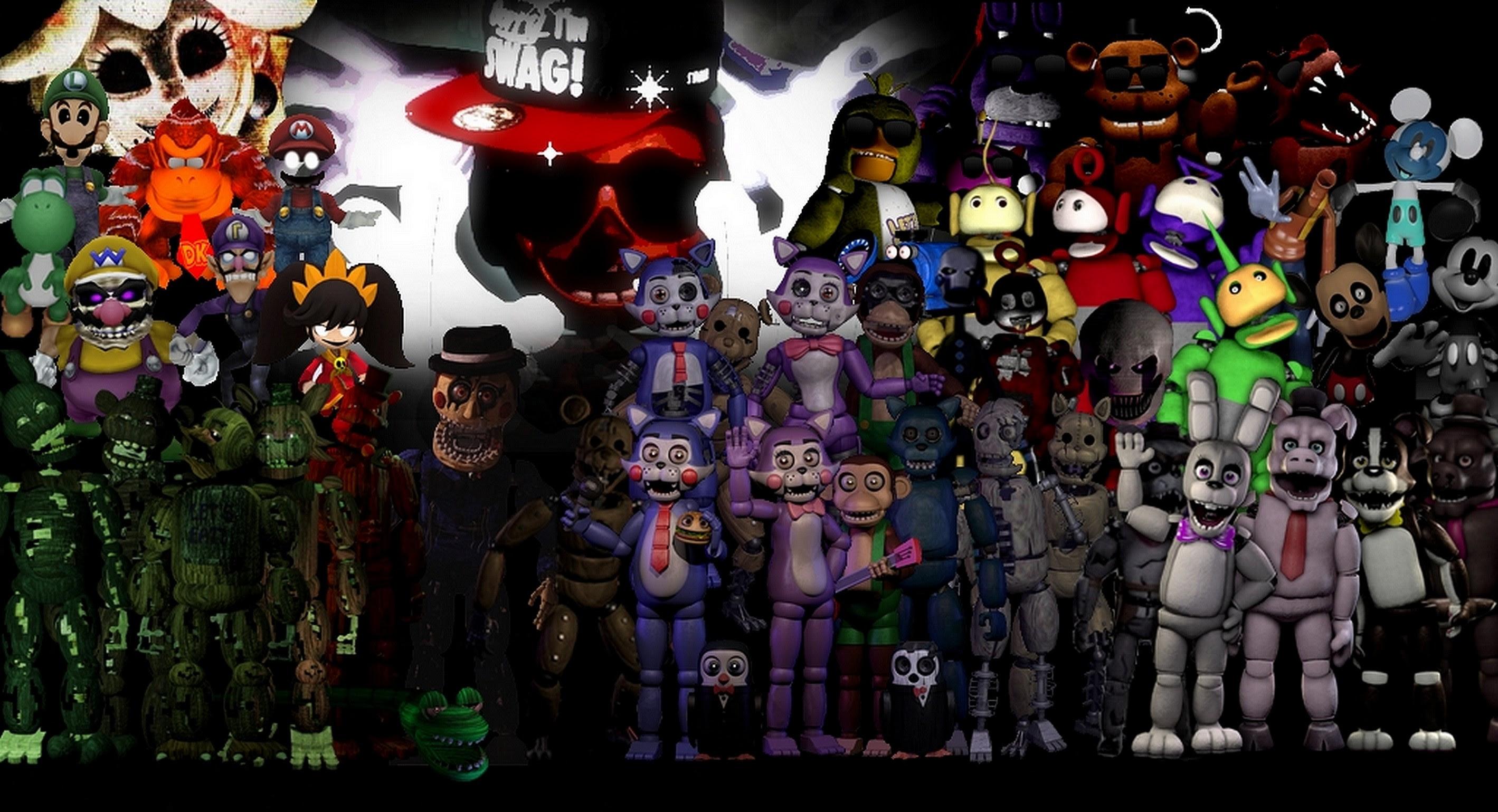 Fnaf Thank You Wallpaper 74 Images - roblox fnaf fan game