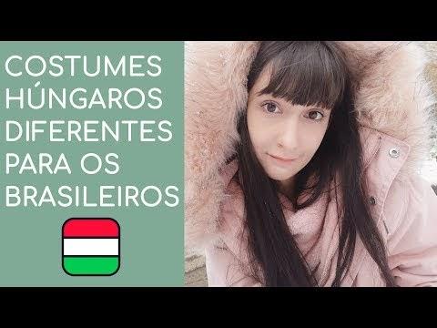 Costumes húngaros diferentes para os brasileiros