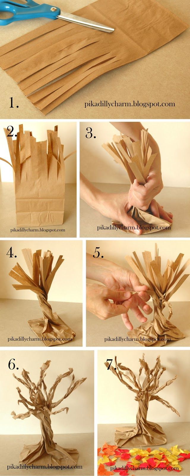 Paper Craft Tree! Perfect for Autumn
