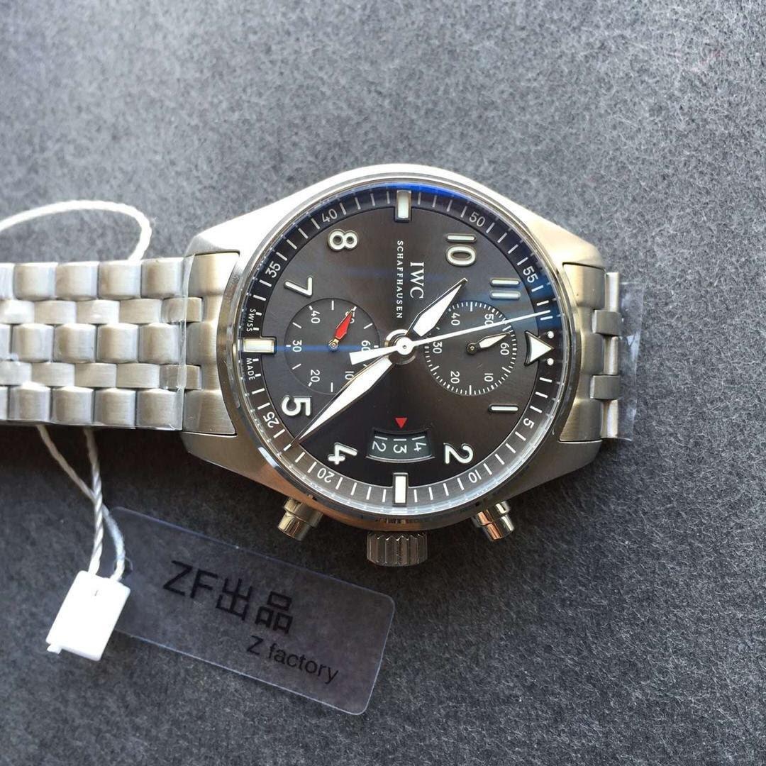 IWC IW387804 Grey Dial