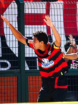 Frauches gol flamengo x bahia final copa são paulo (Foto: Marcos Ribolli/Globoesporte.com)