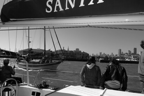 San Francisco Sailing Company - Leaving the dock