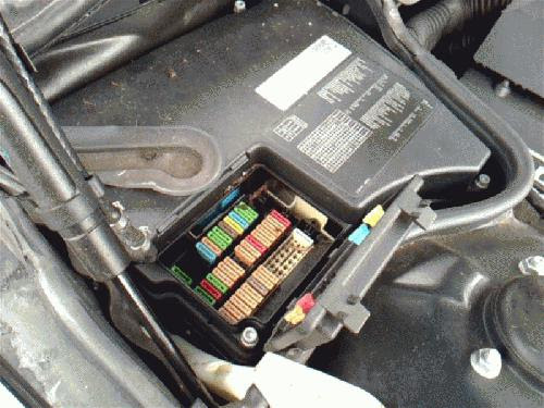 1995 Bmw 740il Fuse Box
