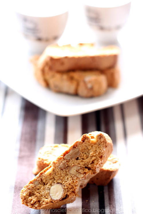 Almond, Walnut & Maple Syrup Biscotti