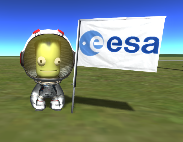 UKAstroNut: The day I got the European Space Agency logo ...