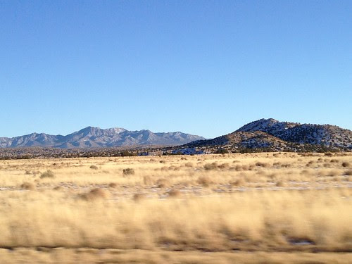 On the road from Albuquerque to Santa Fe