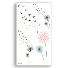 Popular Dandelion Tattoo Buy Cheap Dandelion Tattoo Lots From China