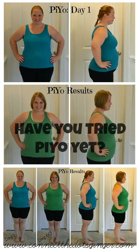 piyo results ideas  pinterest fit bodies fit