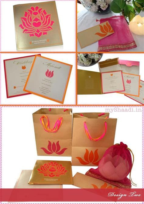 Indian Wedding Invitation Cards: Trendy Design Ideas