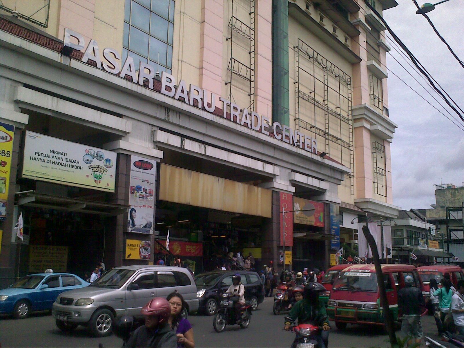 Pasar Baru Bandung Dunia Aleut