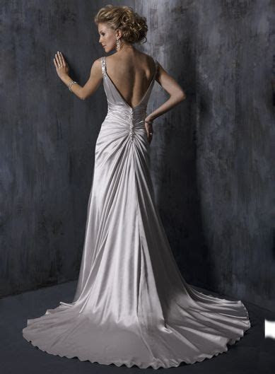 silver wedding dresses   IF i lose weight i'd LOVE to wear