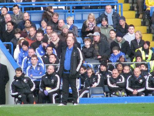 Scolari and the bench