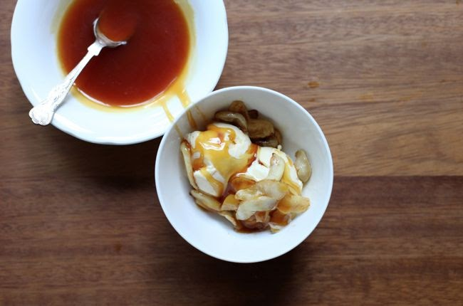 Cider Caramel, Sautéed Apples & Cinnamon Ice Cream