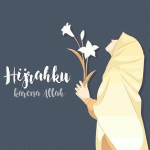 gambar kartun muslimah bercadar cantik  terbaru