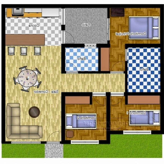 Rumah Minimalis Kamar 3   Ide Rumah Minimalis