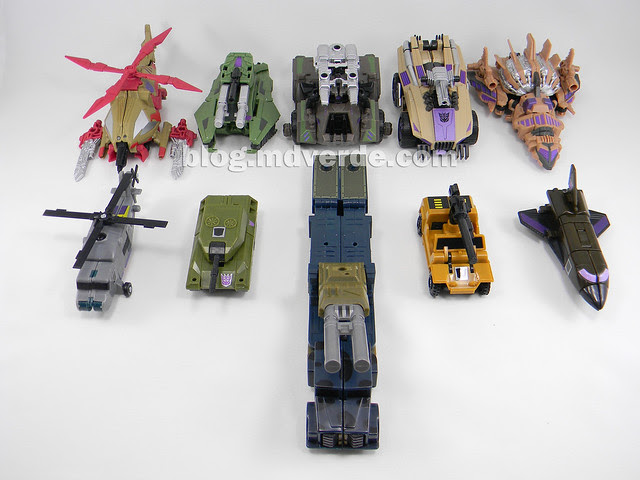 Transformers Bruticus Generations Fall of Cybertron - SDCC Exclusive - Combaticons modo alterno vs G1