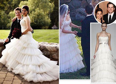 Our Favorite 2011 Celebrity Wedding Dresses   BravoBride