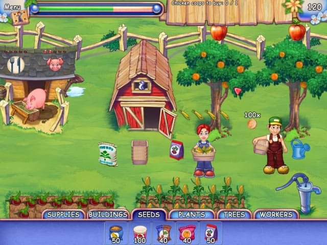 Farmcraft Free PC Game Screenshot