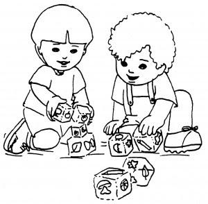 Juguetes Tradicionales Para Colorear E Imprimir