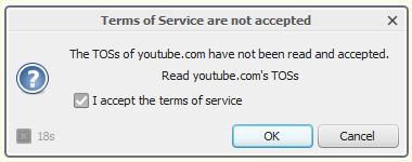 YouTube T&C on OutdatedPenangUncle.blogspot.com