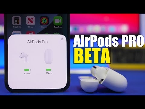 How To Install AirPods PRO Beta Firmware !
