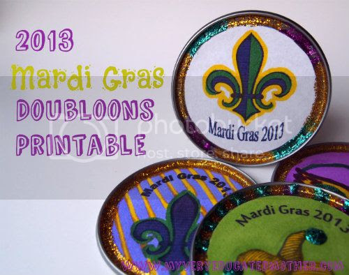 www.myveryeducatedmother.com #freeprintable #MardiGras #kidscraft #2013