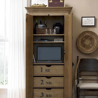 Paula Deen Home Down Home Utility Cabinet in Distressed ...