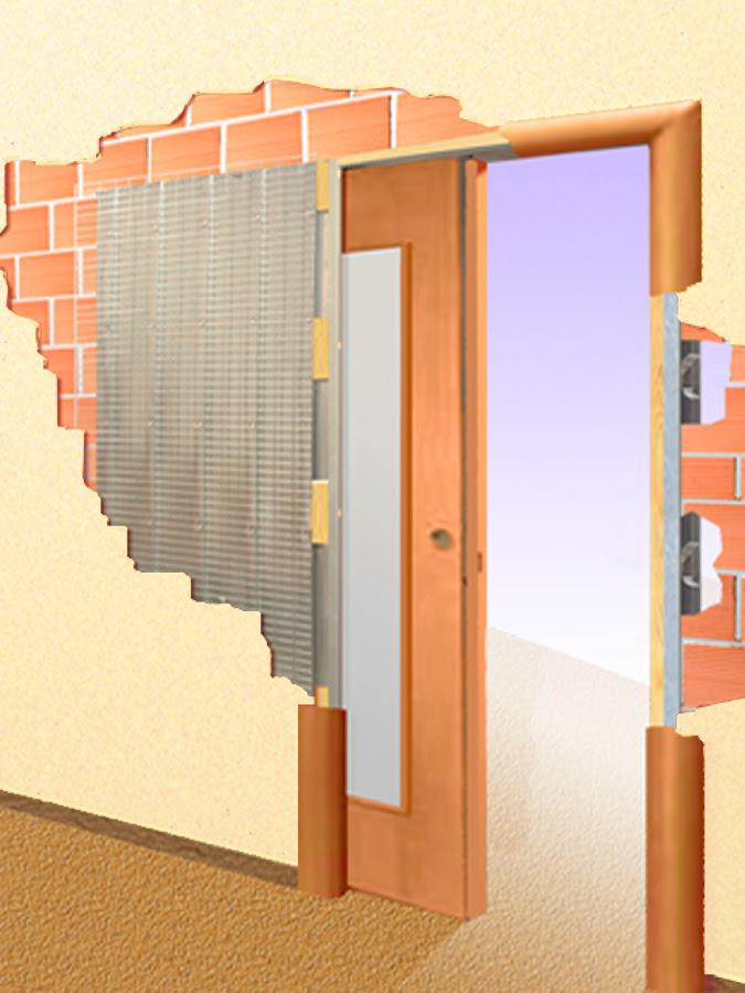 C mo decorar la casa puerta corredera empotrada - Puerta empotrada corredera ...