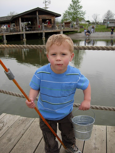 We're Going Fishing!