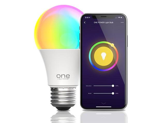 Color Changing Smart A19 LED Light Bulb for $19
