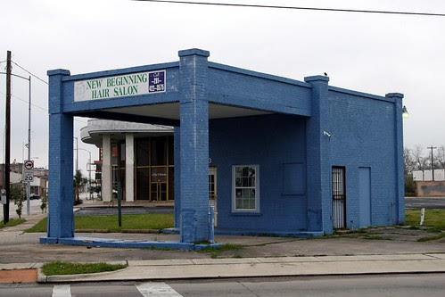 former gas station in baytown