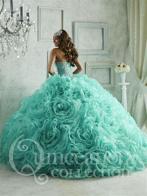 Quinceanera Dress #26801TQ in 2019   quincenera dresses