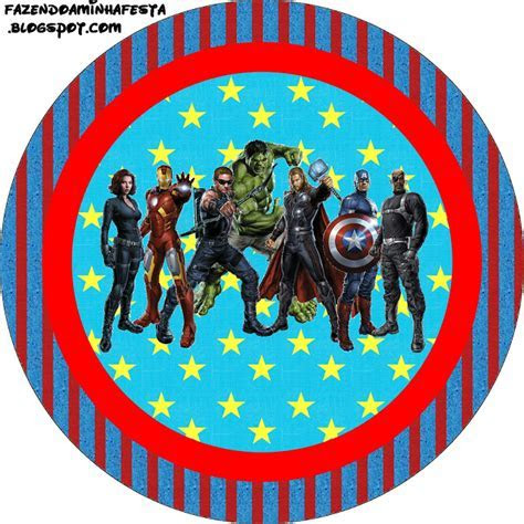Avengers Free Printable Candy Bar Labels.   Oh My Fiesta