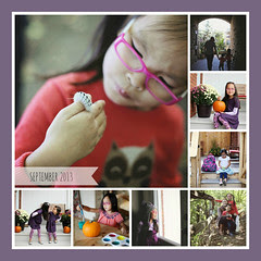 Lilah : September in pictures