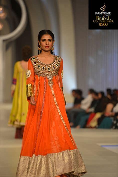 Pakistani Designer Bridal Wedding Frocks 2013 2014 Dresses