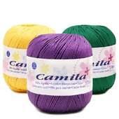Linha para Crochê Camila Mais Ref.4490 - 1 unidade